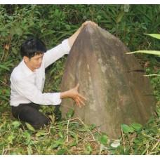 Vết tích còn lại ở núi Linh Thái