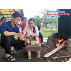 Nấu dầu tràm truyền thống Phú Lộc