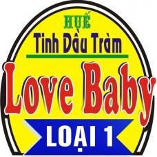 Công dụng hay của dầu tràm Love Baby