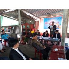 Thông báo kết luận nội dung cuộc họp đầu năm của Ban chấp hành Chi hội đồng hương Thanh Hóa