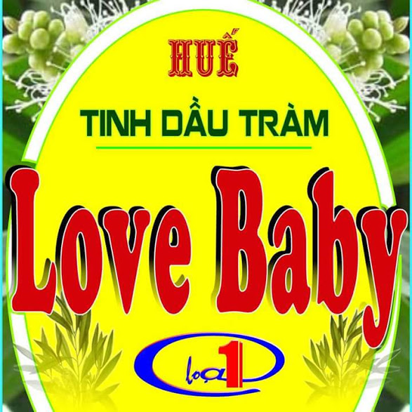 Tinh dầu tràm  sỉ lẻ Love Baby
